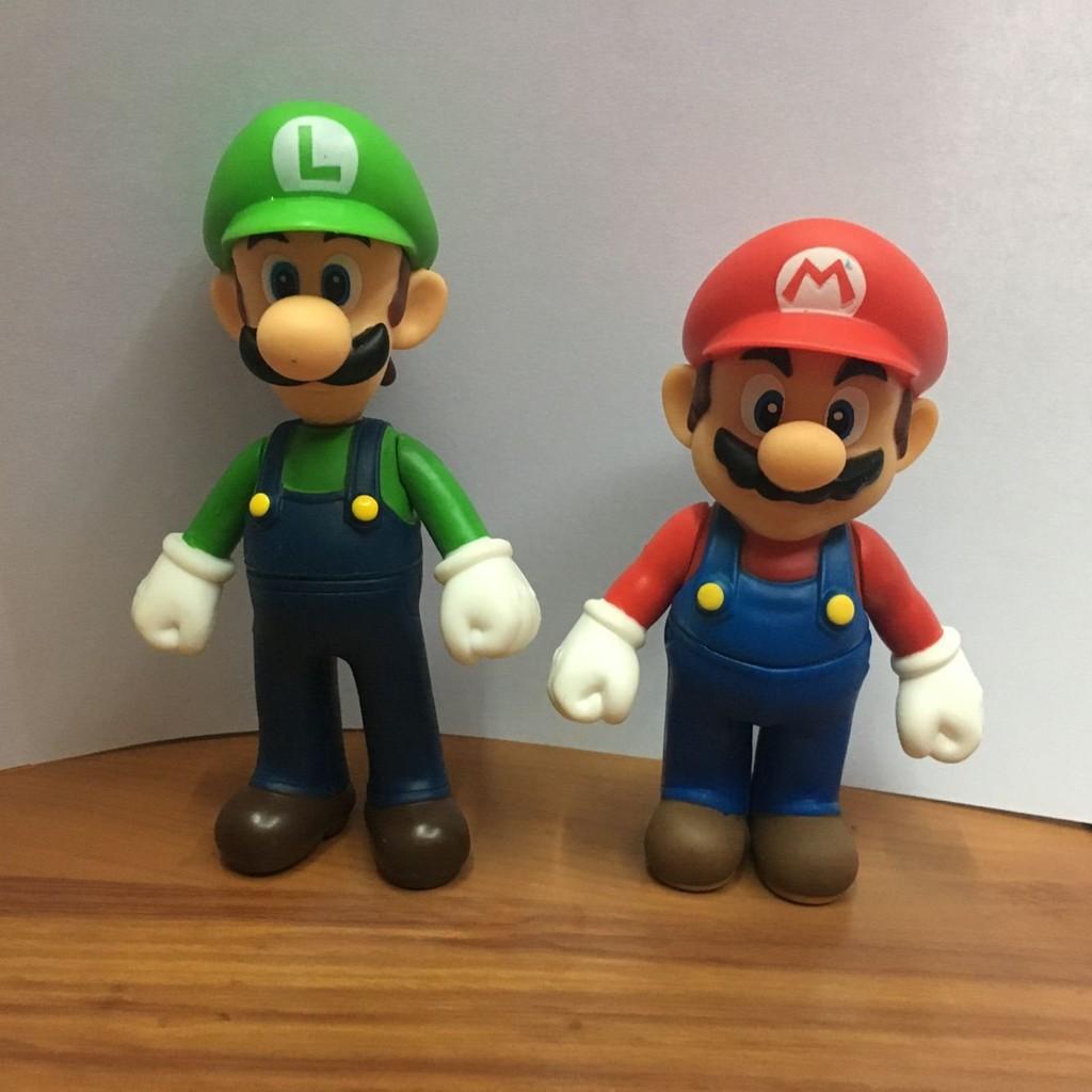 Tv Movies Video Games 18pcs Set Super Mario Bros Luigi Yoshi