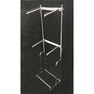 2-5 Bars Rope Ladder Towel Rail White or Natural