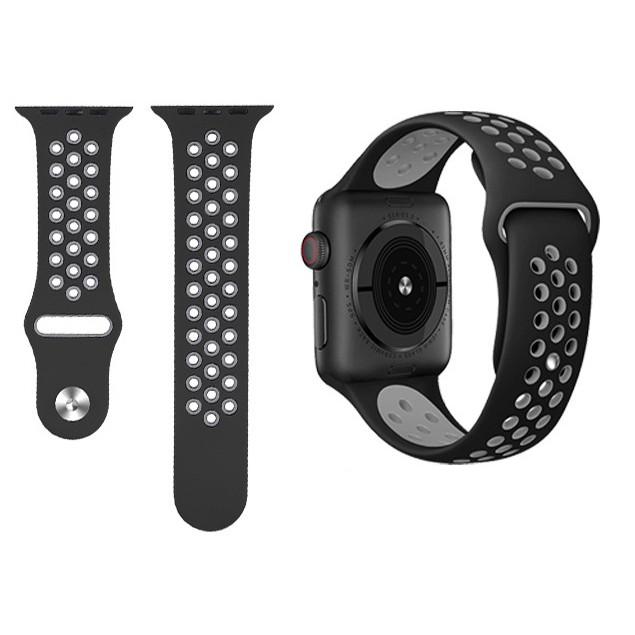 สายนาฬิกา Apple Watch สายนาฬิกาข้อมือ sports Silicone band Series1/2/3/4/5/6,Apple Watch SE band iWatch4 strap 40mm 44mm