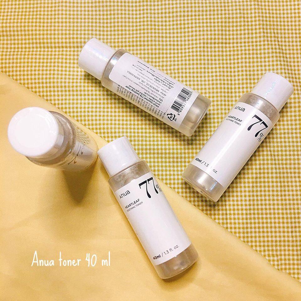 พร้อมส่ง 💥 Anua Heartleaf 77% Soothing Toner 40 ml