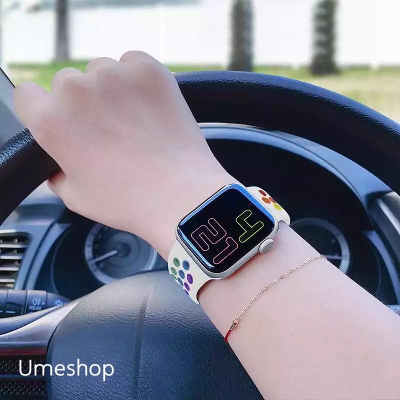 สายไนก แอปเปิ้ลวอช  Apple Watch Band Series 1 / 2 / 3 / 4/ 5/6/SE  สาย applewatch