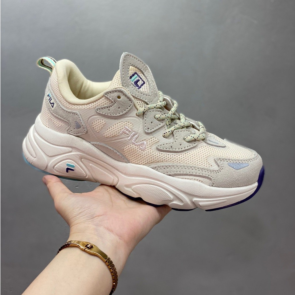 FILA FUSION SWARM รองเท้าผ้าใบรองเท้าวิ่ง