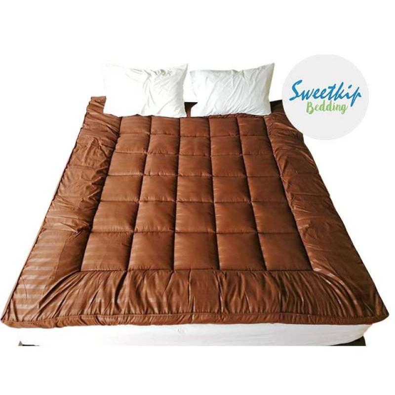 ที่นอน ท็อปเปอร์ Topper ขนห่านเทียม ที่นอนปิคนิค เบาะรองนอน เกรด premium มี 4 สี 3 ขนาด 3.5ฟุต, 5ฟุต, 6 ฟุต