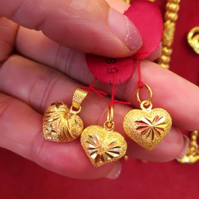  จี้ทองแท้ 96.5% น้ำหนักทอง ครึ่งสลึง ราคา 4,300 บาท
