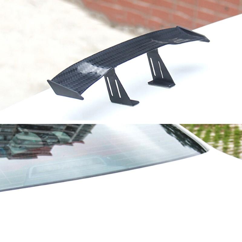 modified car decoration tail black tip shark fins spoiler wing for vehicals EC