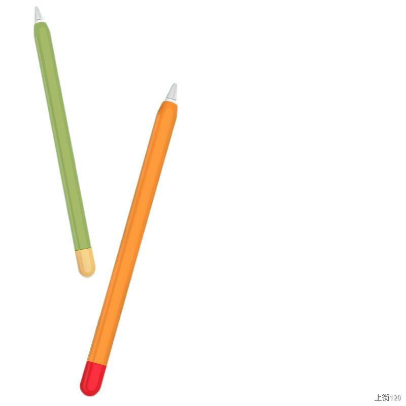 ♕♘ปลอกปากกา Apple ดินสอ, ฝาครอบป้องกันรุ่นที่สองของ applepencil, ipencil รุ่นแรก 2 บางเฉียบ ipadpencil ที่จับปากกา ipad