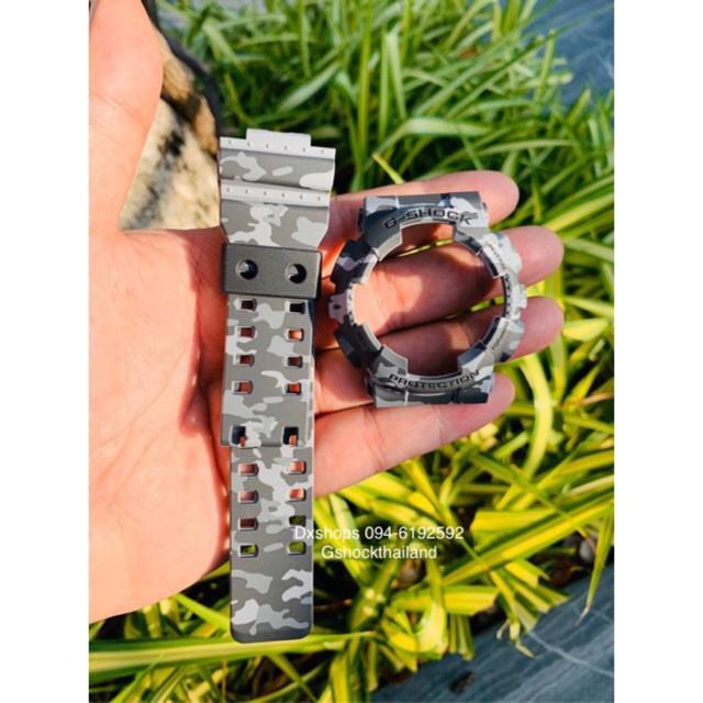 สาย applewatch แท้ สาย applewatch กรอบสายนาฬิกา G-Shock แท้💯% ลายพรางรุ่น GA , GD 100,110,120