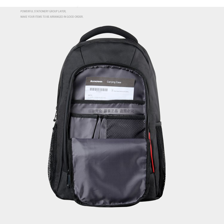 ✜กระเป๋าเป้กันกระแทกของ Lenovo 14 15.6 นิ้วกระเป๋าแล็ปท็อปธุรกิจกระเป๋าเป้สะพายหลังเดินทางสำหรับผู้ชาย 17.3 นิ้ว
