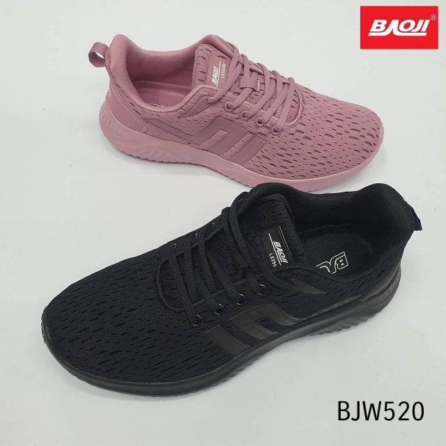 รองเท้าBAOJI รุ่นBJW 520 สีดำ ส