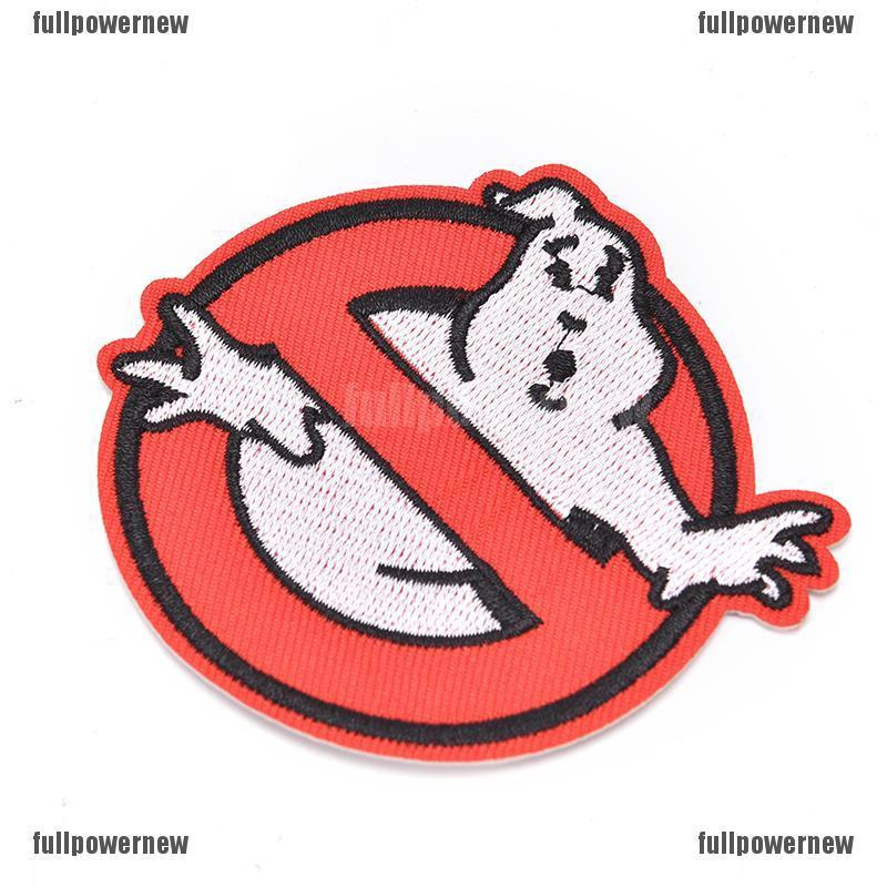 GHOSTBUSTERS Iron On//Sew On Embroidered Patch
