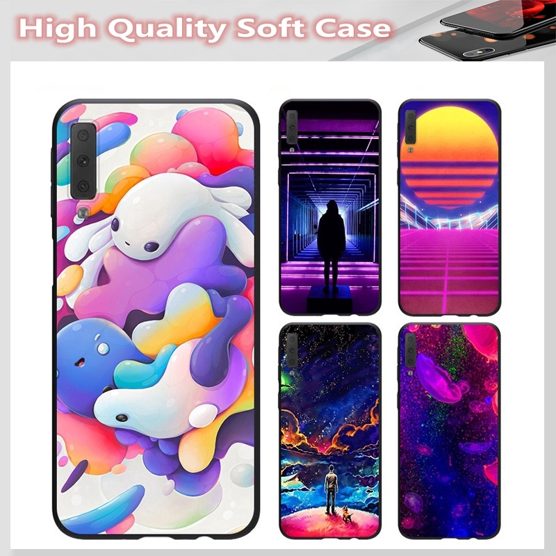 casing for SAMSUNG A2 CORE J7 Pro J7 PLUS A6 A6+ A7 A8 A8+ A8 Star A9 2018 Cover Slime Soft Case