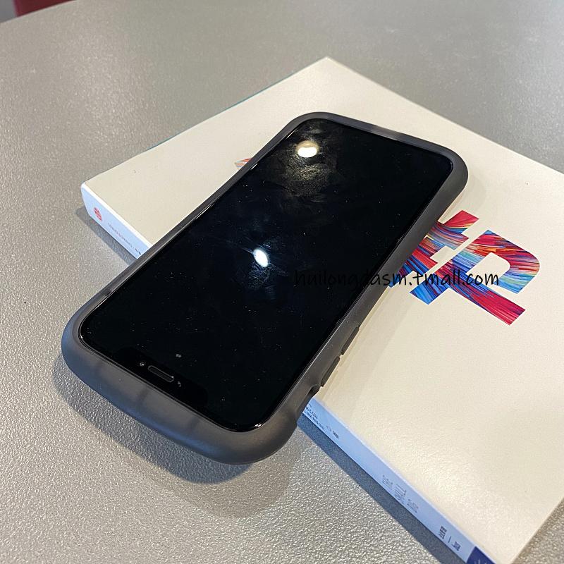 เคส iphone 11-iphone 11 case เอวเล็กหนาสีดำiPhone11pro maxเปลือกโทรศัพท์มือถือ Applese 2S เปลือกรุ่นที่สอง7plus 8เคส6sซิ