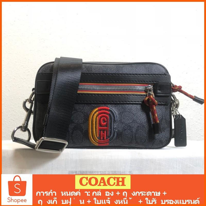 กระเป๋าผู้ชาย COACH แท้ /768 / 2338 / กระเป๋าสะพายข้างผู้ชาย / crossbody bag / กระเป๋ากล้อง