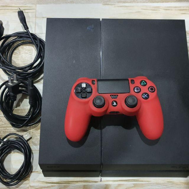 PS4 Fat มือสอง อุปกรณ์ครบพร้อมเล่น ใช้งานได้ปกติ ไม่มีกล่อง มีแผ่น
