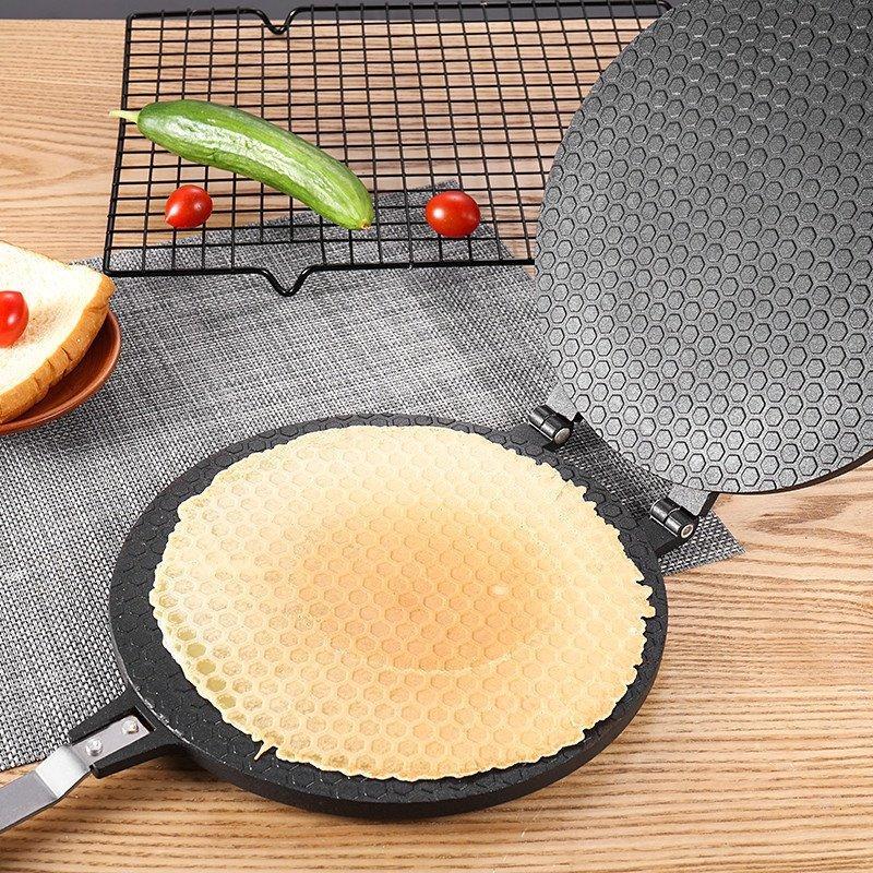 ほむแม่พิมพ์ขนมวุ้นแม่พิมพ์ขนมเค้กแม่พิมพ์ขนมปังดปอนด์ เครื่องกดไข่ม้วนแม่พิมพ์ก๊าซเครื่องม้วนไข่เพื่อสุขภาพอบขนมขบเคี้ยวส