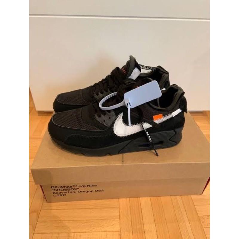 รองเท้าผ้าใบ Nike Airmax 90 X Off สีขาว