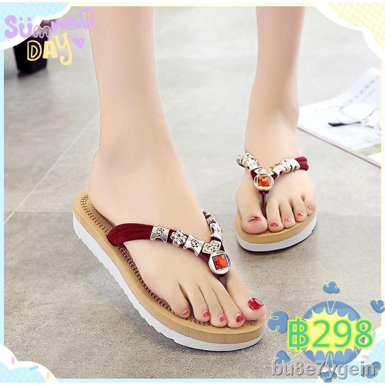 ราคาถูกแฟชั่น☌✘โปรโมชั่น รองเท้า แท้ รองเท้าคัชชู ผู้หญิง fila เพื่อสุขภาพ รองเท้าผู้หญิง เด็กผู้หญิง รองเท้าแตะ