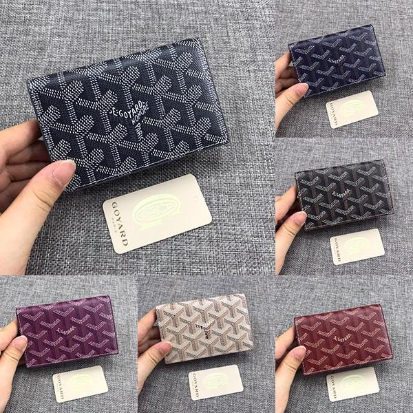 Goyard M512  Card Holder Wallet/ Ladies Coin Purse rB2v