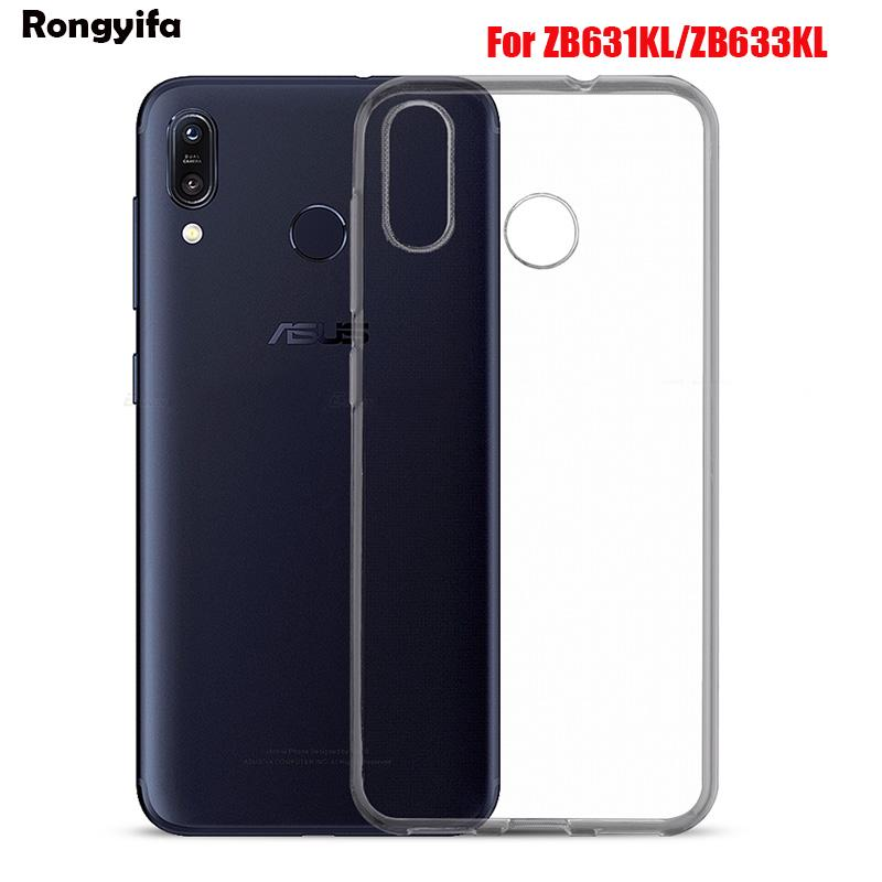 Review Ultra Thin Slim Clear Soft Case For Asus ZenFone Max Plus Pro M1 M2 ZB570TL ZB555KL ZB602KL ZB633KL ZB631KL Back