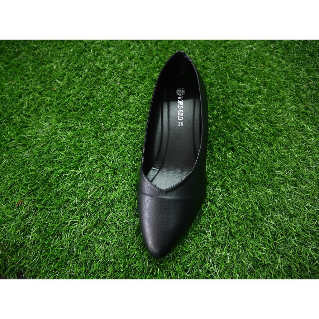 รองเท้าคัชชูผู้หญิงส้นสูงหัวแหลม ทรงสวย ส่งฟรี