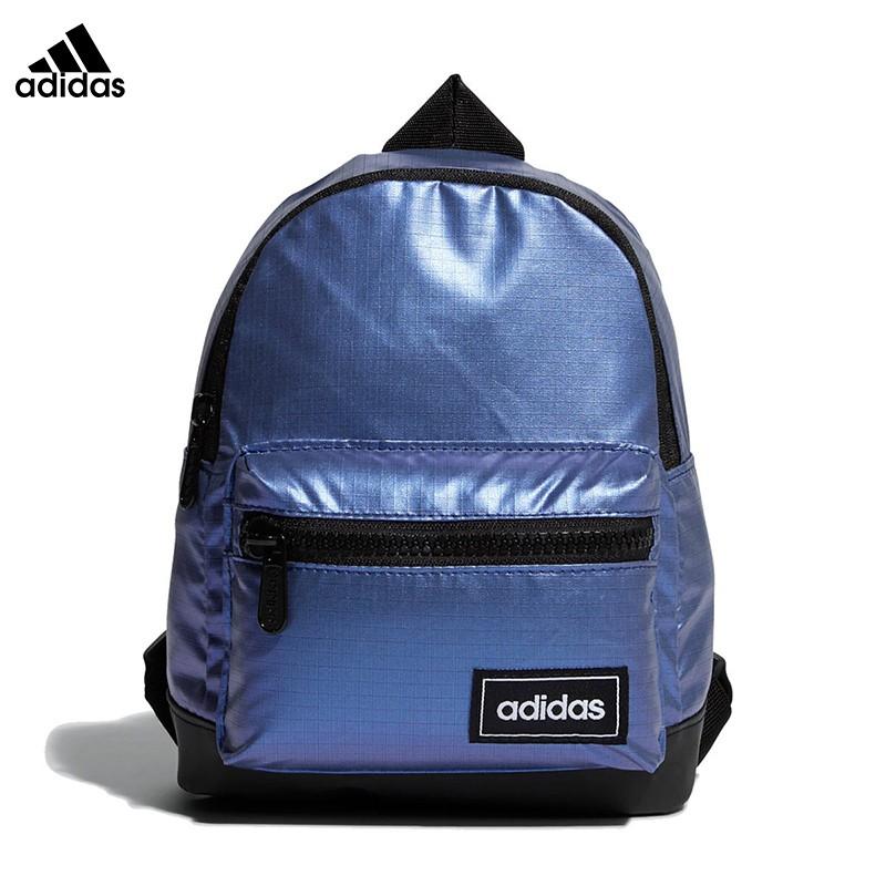 adidas กระเป๋าเป้สะพายหลังหญิงกระเป๋าใบเล็กกระแสแฟชั่นป่าสไตล์เกาหลีกระเป๋าเป้นักเรียนเดินทางง่าย