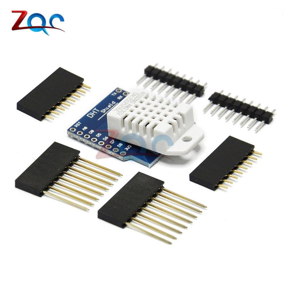 1PCS DHT22 Shield for WeMos D1 mini digital temperature and humidity sensor