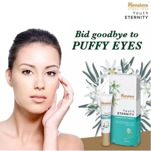 ครีมบำรุงรอบดวงตา Himalaya (Youth ETERNITY)StemCells  สกัดจากพืช  ช่วยกำจัดปัญหารอบดวงตาต่างๆ ได้ชัวร์มากๆ