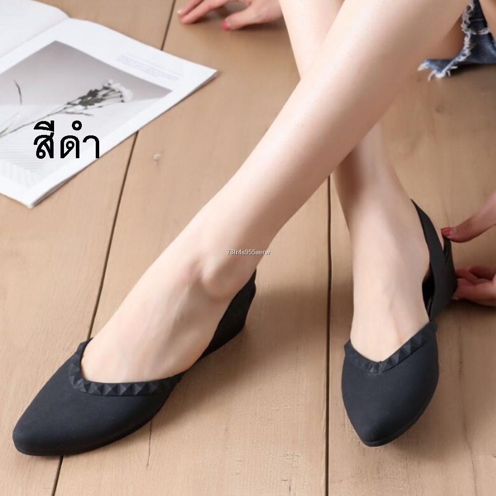 ในสต็อกในกรุงเทพ!!✥✣รองเท้าคัชชูหัวแหลม รองเท้า มีส้น รองเท้าคัชชู รองเท้าสวย รองเท้าแฟชั่น หัวแหลม สวย รองเท้าผู้หญิง