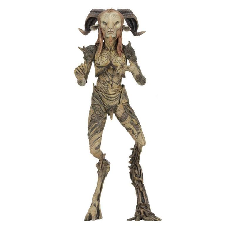 New NECA Faun Figure Movie Pans Labyrinth El Laberinto del Fauno Faun 18CM PVC Action Figure Model Toys Anime Figure Dol