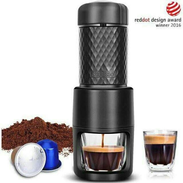 ✥✟staresso sp-200 Portable coffee maker เครื่องชงกาแฟ เครื่องชงกาแฟพกพา เครื่องชงกาแฟสด เครื่องทำกาแฟ เครื่องชงกาฟสด ชง