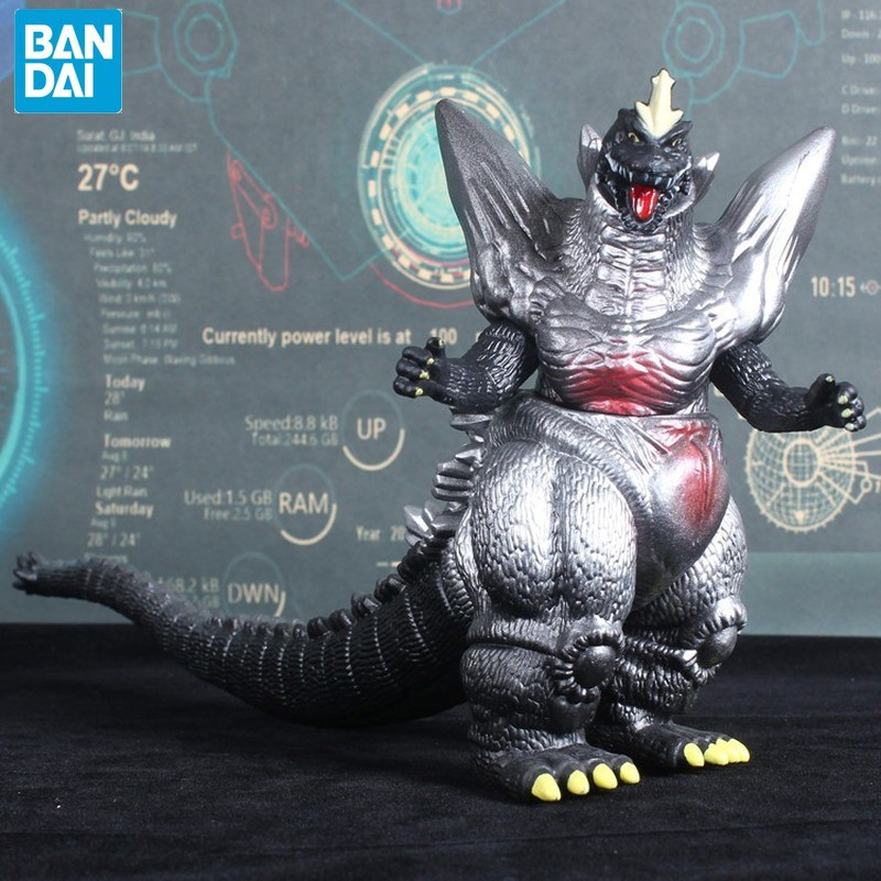 BANDAI 16cm Gojira Godzilla 2020 Movie Version Garage Kit Large  Dinosaur Monster Movable  PVC Action Figure Collectible