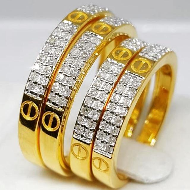 แหวนทองคำแท้ 9k #Cartier  #คาร์เทียร์ ก็มานะค่ะ สวยไฮโซสุดๆ ราคาดีงามมมม ⬇️⬇️⬇️⬇️⬇️