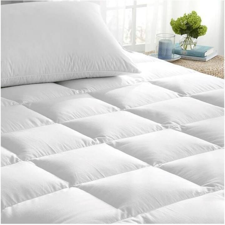 ที่นอน topper topper 5 ฟุต 🎉ส่งจากไทย🎉 Topper ขนห่านสีขาว ขนอก 95% ขนาด 120 x 200 เซนติเมตร (3.5 ฟุต) ที่นอนขนห่าน ท็อ