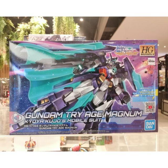 BANDAI - (HG) GUNDAM TRY AGE MAGNUM (Gundam Model Kits)