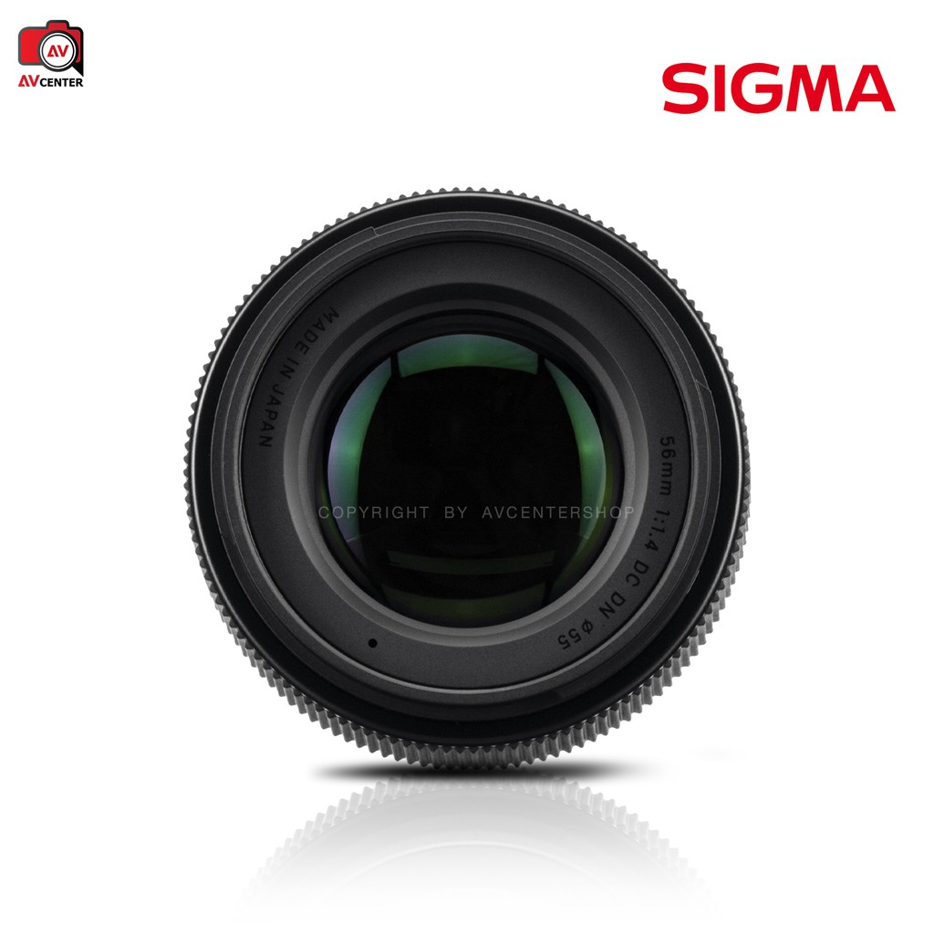 Sigma Lens 56 mm. F1.4 DC DN [รับประกัน 1 ปี By AVcentershop] s3cq