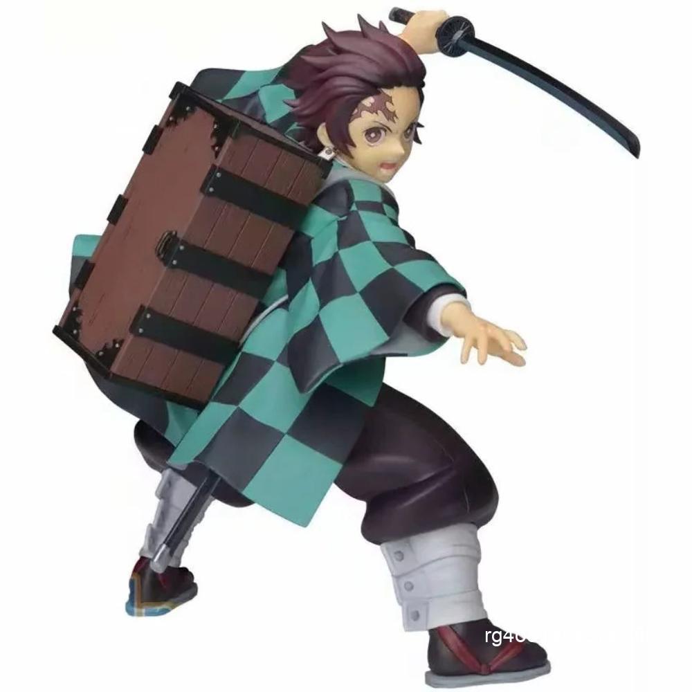 Maru Raku Anime Demon Slayer Blade ประตูห้องครัว Tanjiro Back Box SPM Scenery Model Figure Boxed