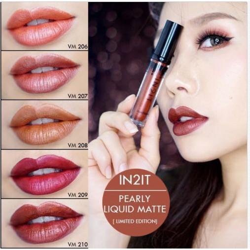 Stain In Long Matte It Color 2 Glitter Limited Peraly Lip Last Liquid Lipstick