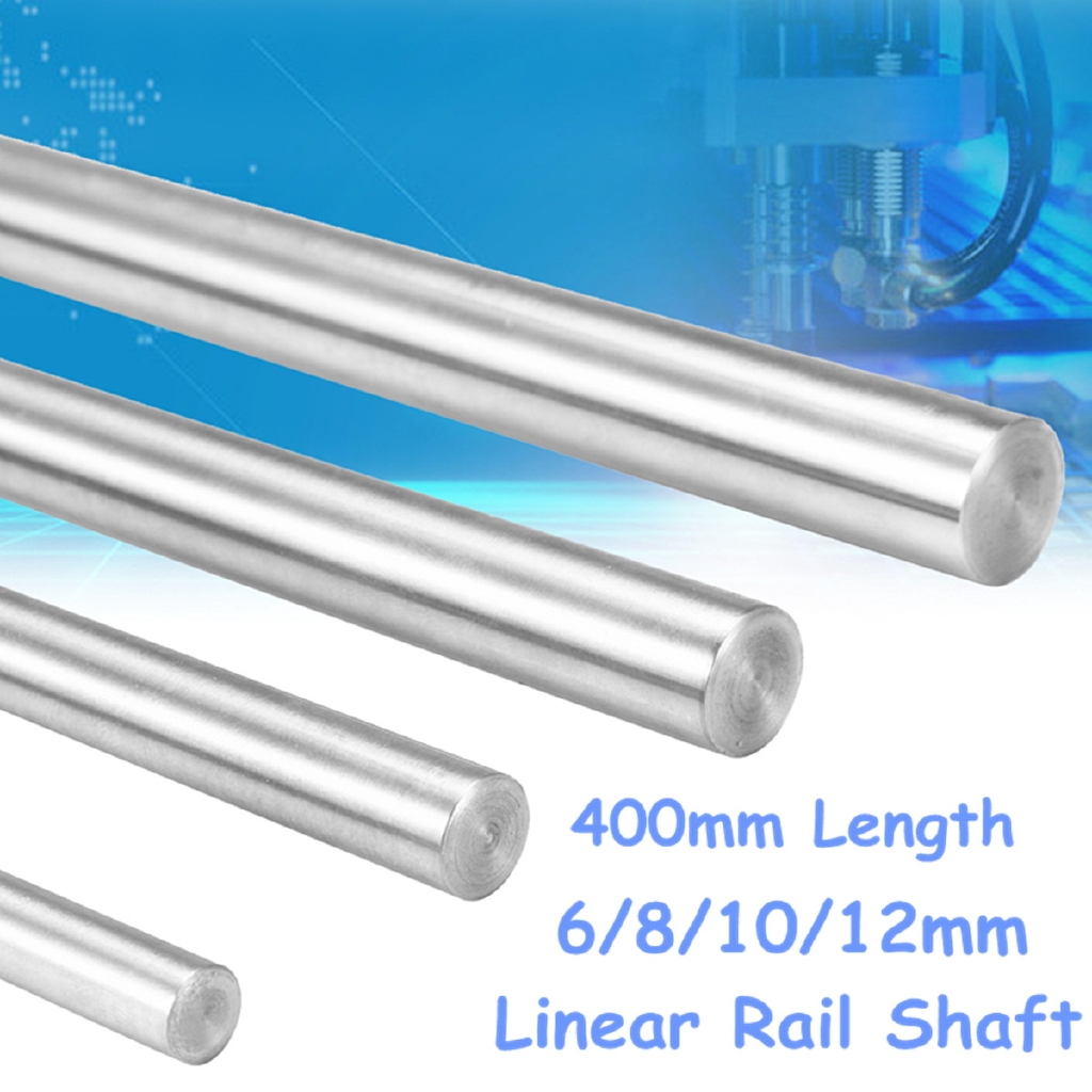 30-40cm 8mm Chromed smooth Rod steel linear rail shaft For CNC 3D printer Reprap