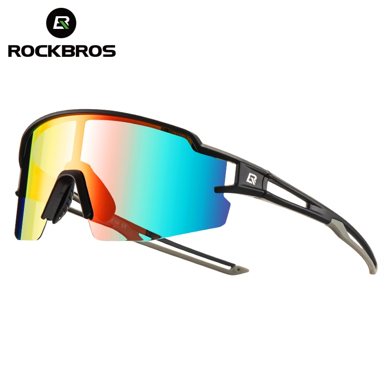 ROCKBROS Cycling Sunglasses Photochromic Polarized Bike Glasses Sport Eyewear MTB Glass Outdoor Riding Fishing Bicycle Sunglass NEW