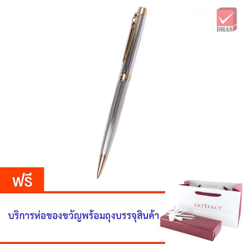 Artifact ปากกา ปากกาลูกลื่น เมทาลิก้า โครม/ทอง จำนวน 1 ด้าม