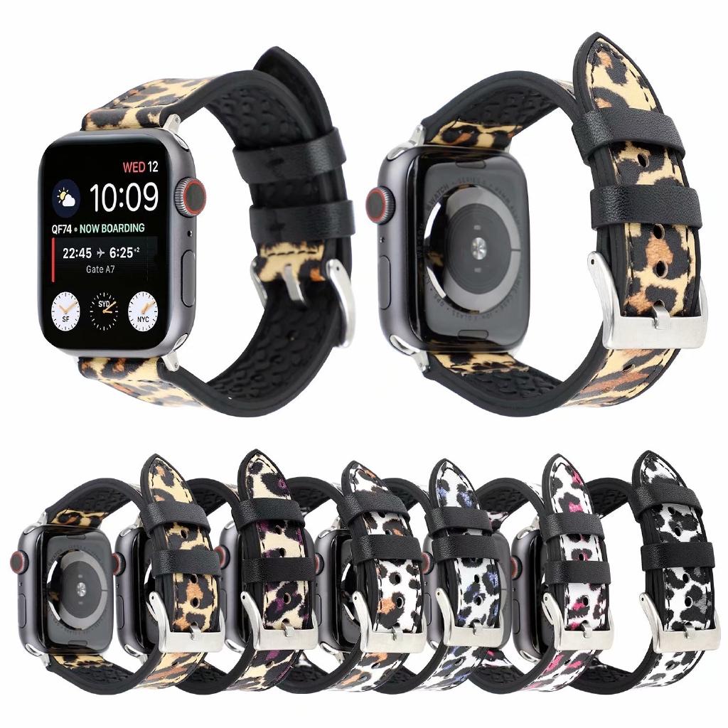 【Apple Watch Strap】สายคล้องหนังสำหรับ Apple Watch Series 6 / SE / 5 / 4 / 3 / 2 / 1 ( 38มม. 42มม. 40มม. 44มม.)