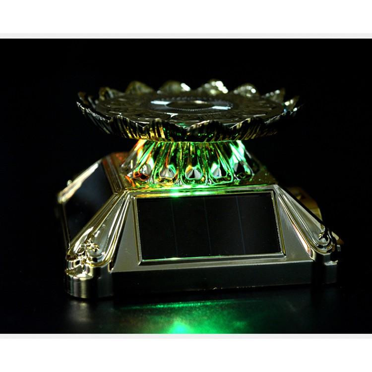 ☽Rotating-Base Garage-Kit Solar Action-Figure-Box Estartek for Egg-Exhibition LED Lotus