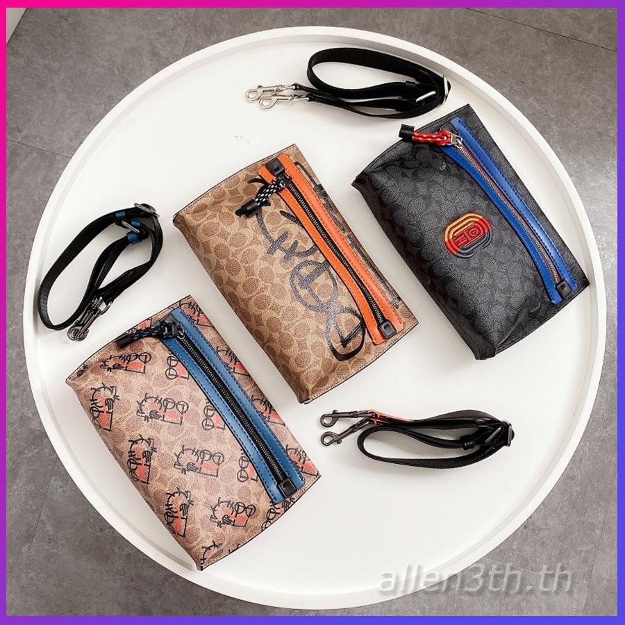 กระเป๋าผู้ชาย Coach F4560 F907 F5453 กระเป๋าสะพายข้างผู้ชาย / crossbody bag / คลัทช์ / กระเป๋าใส่เอกสาร