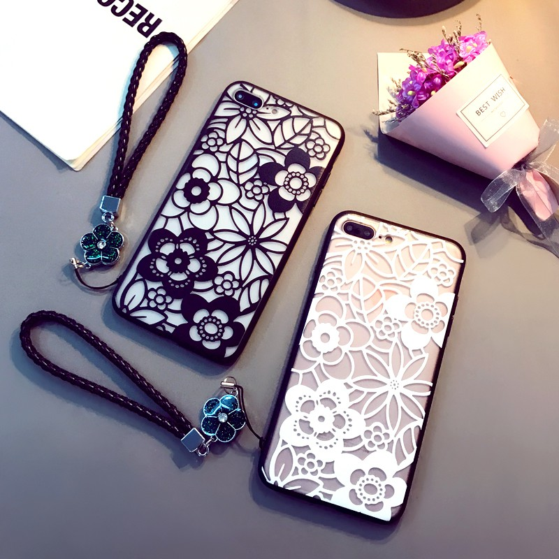 สายคล้องโทรศัพท์มือถือ Apple Xs Max สไตล์ญี่ปุ่นและเกาหลีใต้สําหรับ Iphone 7/8 Plus