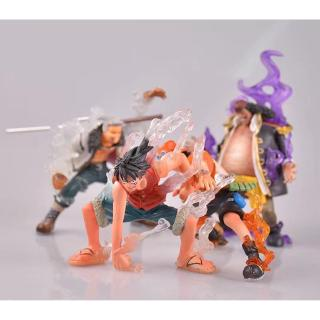 Review ฟิกเกอร์ One Piece To Kill The First Bullet Luffy สีดํา 4 ชิ้น