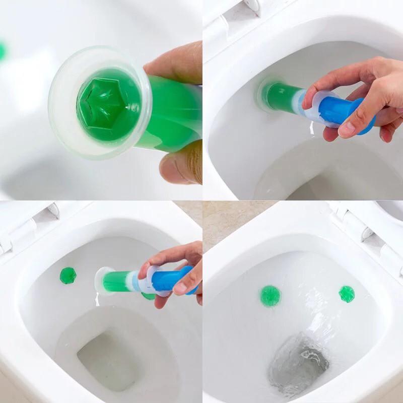 เจลหอม เจลดับกลิ่นชักโครก Toilet Gel Cleaner ดับกลิ่นห้องน้ำ เจลทำความสะอาด เจลลดคราบ ชักโครก ห้องน้ำ น้ำยาทำความสะอาด