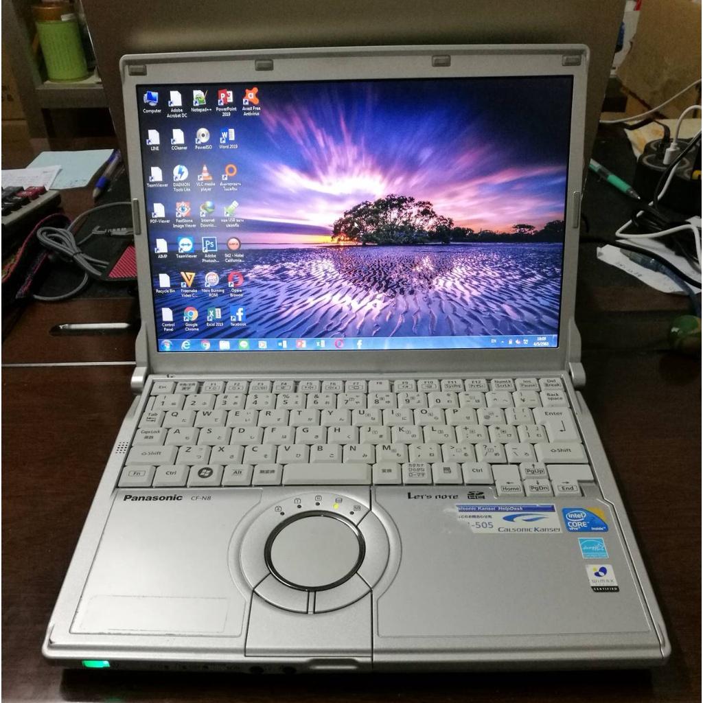โน๊ตบุ๊ค Notebook Panasonic ขนาด12 นิ้ว (มี 3 สเปคให้เลือก) OfGr