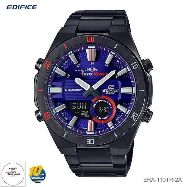 Casio Edifice นาฬิกาข้อมือผู้ชาย สายสแตนเลส รุ่น ERA-110TR-2A Scuderia Toro Rosso Limited Edition