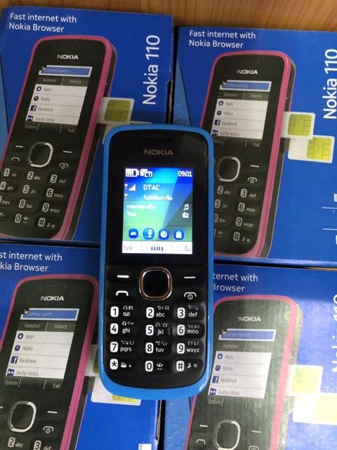 โทรศัพท์มือถือปุ่มกด Nokia 110 2-SIM ใหม่ล่าสุด ปุ่มกดไทย