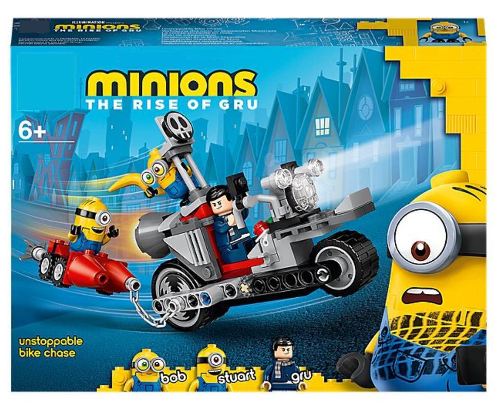 เลโก้81888Despicable Meสีเหลืองเล็กๆน้อยๆเริ่มต้น75549รถจักรยานยนต์ไล่ล่าประกอบหน่วยการสร้างของเล่น75551 hUIo